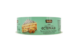 Торт воздушно-ореховый Эстерхази Tarta к/у 850г