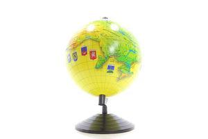 Глобус України Аркуш D160мм