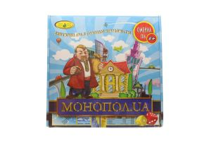Гра настільна Монопол.UA Київська фабрика іграшок