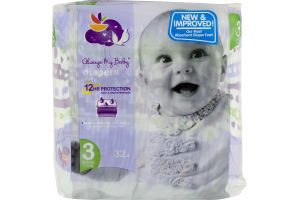Always My Baby Diapers Size 3 - 32 CT
