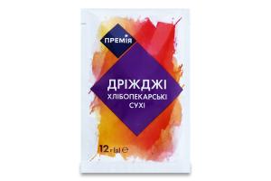 Дріжджі хлібопекарські сухі Премія м/у 12г
