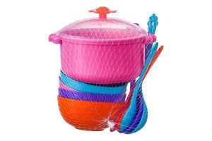 Набор посуды для детей от 12мес №39143 Ромашка Tigres 12эл