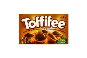 Конфеты лесной орех/карамель/шоколад Toffife 125г