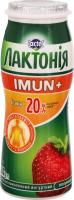 Напій кисломолочний 1.5% Полуниця Imun+ Лактонія п/пл 100г
