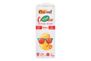 Напиток растительный с кешью без сахара без глютена органический Ecomil т/п 1л