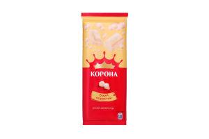 Шоколад белый пористый Корона 90г