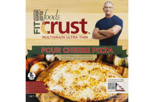 Robert Irvine Foods Fit Crust Multigrain Ultra Thin Four Cheese Pizza