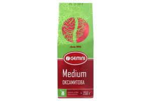 Кофе натуральный жареный молотый Medium Gemini м/у 250г