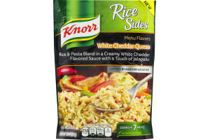 Knorr Rice Sides White Cheddar Queso