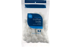 Smart Sense Super Jumbo Cotton Balls - 70 CT