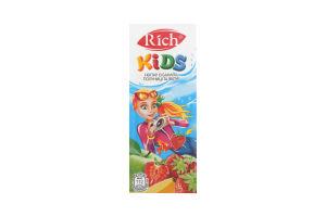 Нектар с яблок, винограда, черноплодной рябины и малины Rich Kids т/п 200мл