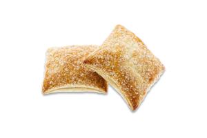 Печиво здобне листкове з малиновим наповнювачем Малютка Салекс к/у 2кг