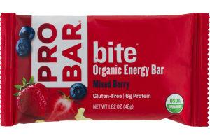 PROBAR Bite Organic Energy Bar Mixed Berry
