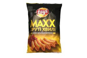 Чипсы картофельные со вкусом куриных крылышек барбекю Lays м/у 120г