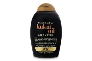 Шампунь для волосся з олією гавайського горіха OGX 385мл