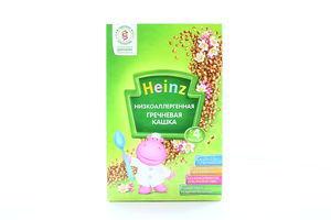 Каша безмолочная от 4 мес Низкоаллергенная гречневая каша Heinz к/у 200г