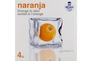 Nasto's Sorbet Orange Naranja - 4 CT