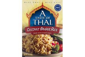 A Taste Of Thai Coconut Ginger Rice
