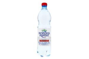 Вода питна природна сильногазована Корона Карпат п/пл 1л
