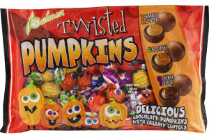 Palmer Twisted Pumpkins Chocolaty Pumpkins with Creamy Centers