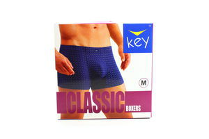 Труси Key чоловічі Boxers MXH 481 A4 NI M