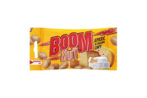 Арахіс смажений солоний зі смаком сиру Boom Nut м/у 30г