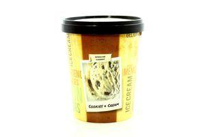 Морозиво Glacio Вершкове з шматочками бісквіта ст 430г х8