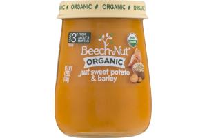 Beech-Nut Organic Stage 3 Just Sweet Potato & Barley