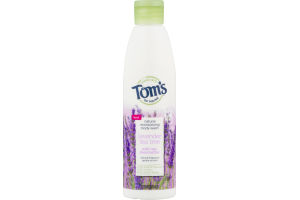 Tom's Of Maine Natural Mositurizing Body Wash Lavender Tea Tree With Raw Shea Butter