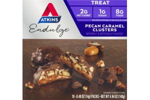 Atkins Endulge Treat Bars Peanut Caramel Clusters - 5 CT