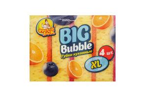 ФБ Губки кухонні BIG Bubble 4 шт (18 шт/ящ)