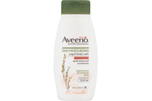 Aveeno Active Naturals Daily Moisturizing Yogurt Body Wash Apricot And Honey