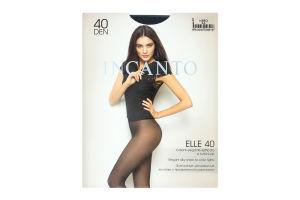 Колготки женские Incanto Elle 40den 2-S nero