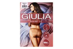Колготки жіночі Giulia Bikini 20den 2-S nero