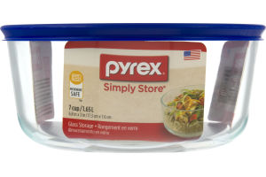 Pyrex Simply Store Glass Storage Container - 7 Cup