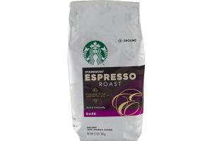 Starbucks Espresso Roast Dark Ground Coffee