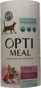 Корм д/взросл котов Optimeal чувст пищев ягнен сух