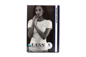 Футболка LANS жіноча біла L