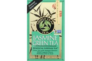 Triple Leaf Tea Jasmine Green Tea - 20 CT