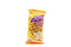 Козинак арахисовый с воздушным рисом Жайвір м/у 60г