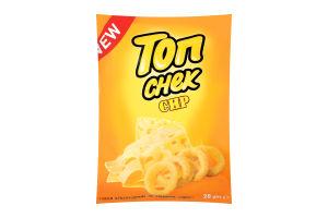 Снеки кукурудзяні зі смаком сиру Топ Снек м/у 28г