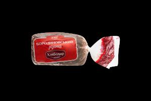 Хліб різаний Бородиновський Хлібодар м/у 500г