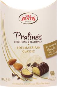 Конфеты Zentis с марципаном шоколадные