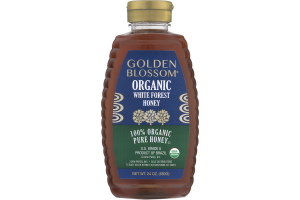 Golden Blossom Organic White Forest Honey 100% Organic Pure Honey