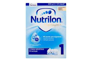 Суміш молочна суха для дітей від 0 до 6міс 1 Premium Nutrilon к/у 600г