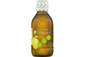 NutraSea Omega-3 Supplement Zesty Lemon