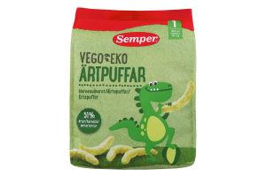SEMPER Vego&Eko палички з зеленого горошку (50 г) 12+