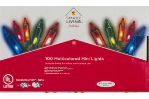 Smart Living Multicolored Mini Lights - 100 CT