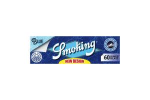 Папір Smoking Blue для скручування сигарет (60шт)