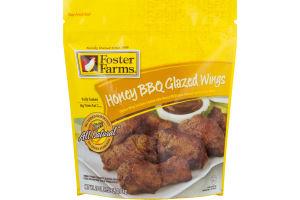 Foster Farms Wings Honey BBQ Glazed
